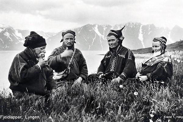 Саами, 1928 год Фото: T. Høegh